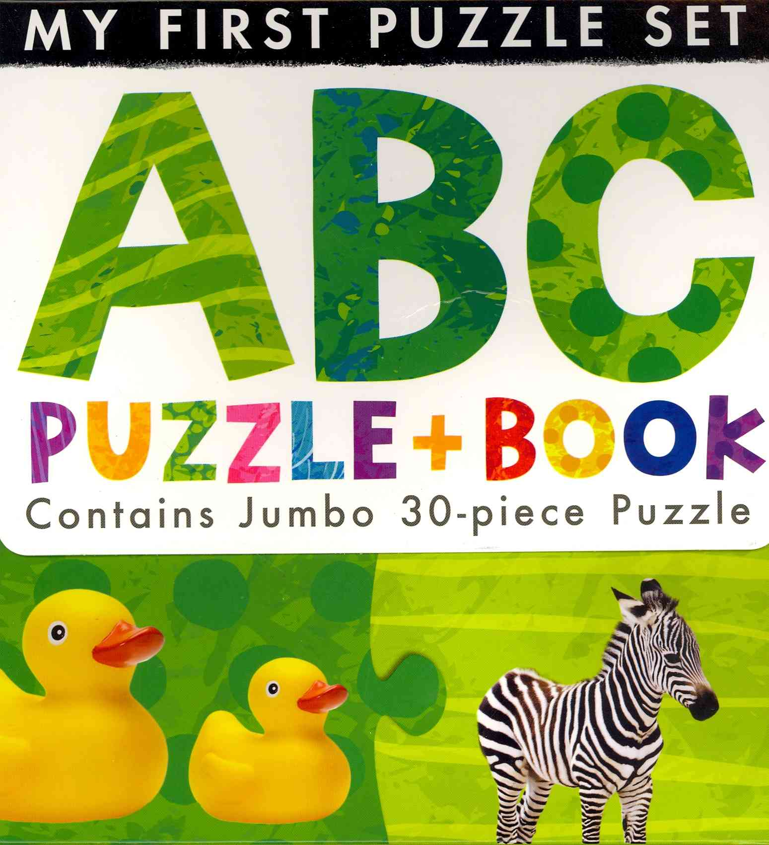 ABC Puzzle and Book By Tiger Tales (COR)